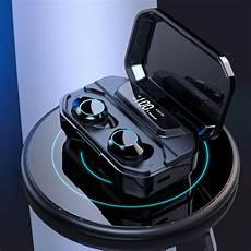 Bakeey Bluetooth Power Display Earphone Noise by Bakeey Tws Wireless Bluetooth 5 0 Earphone Led Display