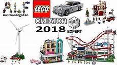 lego creator expert 2018 compilation of all sets