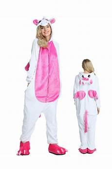 unicorn kigurumi onesie pajamas soft flannel unisex