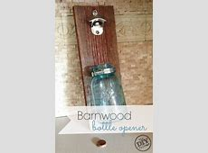 Barnwood Mason Jar Bottle Opener   Around the Home   Barn