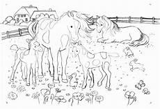 Ausmalbilder Pferde Bauernhof Malvorlage Pferd Bauernhof Kinder Zeichnen Und Ausmalen