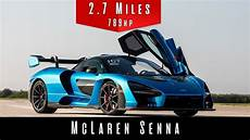 2019 mclaren senna top speed test