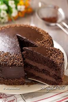 torta crema pasticcera e nutella torta al cioccolato con crema al mascarpone e nutella ho voglia di dolce