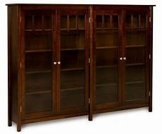 amish bookshelf bookcase solid wood wooden furniture office kitchen double new ebay