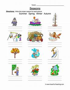 worksheets on seasons for grade 2 14834 seasons worksheet homeschooldressage