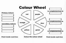 colors spectrum for worksheet color wheel 2 worksheet kinderart
