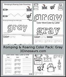 color gray worksheets for preschool 12862 348 best color activities for images on