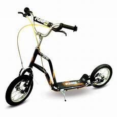 funbee cross scooter with 12 inch wheels and