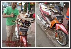 Modifikasi Motor Honda Supra Fit New by Modifikasi Honda Supra Fit New Ala Thailand Look Style