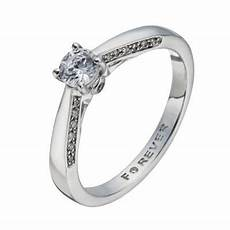 the forever diamond 18ct white gold 2 5 carat solitaire