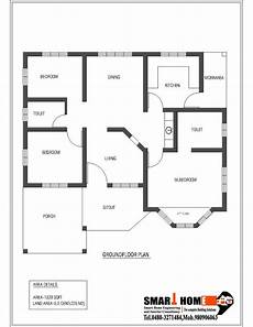 free house plans kerala style 1320 sqft kerala style 3 bedroom house plan from smart
