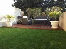 most view pict terrasse en bois dans un petit jardin