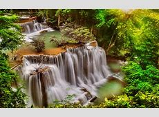 Beautiful Waterfall Thail Desktop Background 498358