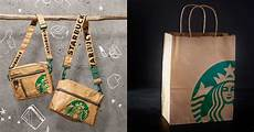starbucks releases their new siren bag collection which was inspired by their own paper bags