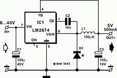 lm2674 5v switch mode power supply
