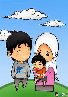 Gambar Animasi Kartun Islami Lucu Kartun Animasi Dan