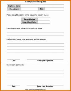 9 salary change form template simple salary
