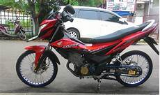 Modifikasi Motor Sonic by Modifikasi Honda Sonic 150 Jari Jari