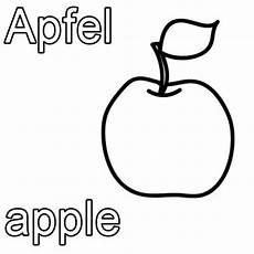 Malvorlagen Apfel Xanten Kostenlose Malvorlage Englisch Lernen Apfel Apple Zum
