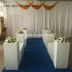 square white wedding pillar wedding decoration vase for party wedding decoration glass fiber