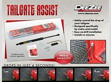 DeeZee Tailgate Assist & SSM Tailgate Defender Combo Kit