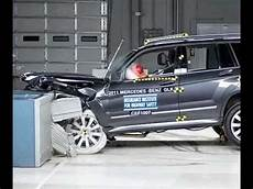 accident recorder 2011 mercedes benz gl class free book repair manuals iihs 2011 mercedes glk moderate overlap good and side impact good crash test youtube