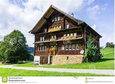historic swiss house stock image image of obwalden