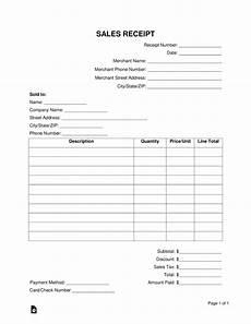 sle receipt template free sales receipt template word pdf eforms free