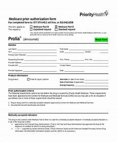 free 7 sle prior authorization forms pdf