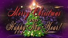 merry christmas and happy new year 4k animation greeting card youtube