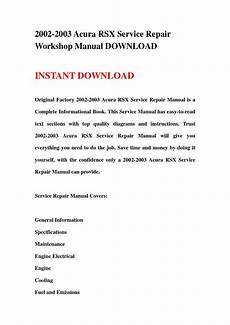 service repair manual free download 2001 acura cl on board diagnostic system 2002 2003 acura rsx service repair workshop manual download by jnshemfne issuu