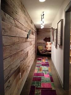 ideen wandgestaltung flur korridor design