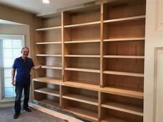 custom carpenter in columbus ohio built in bookshelves