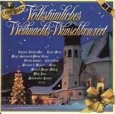 unser gro 223 es volkst 252 mliches weihnachts wunschkonzert 2 cd