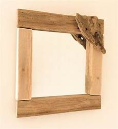 miroir en bois flott 233 par l atelier de corinne