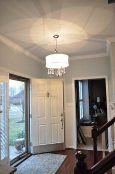 wall color is light gray ceiling is reflecting pool both behr paint colors