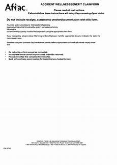 top 33 aflac claim forms and templates free to download in pdf format