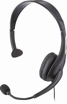 ear headset open box excellent insignia on ear analog mono headset
