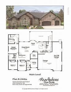 rambler ranch house plans r 2446a rambler house plans floor plans ranch