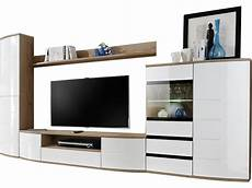 meuble tv avec colonne rangement ensemble meuble tv 340 cm avec banc tv 233 tag 232 res haute colonne de rangement vitrine led