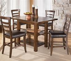 Apartment Furniture Kitchen Table by Pinderton Square Counter Height Ext Table By Signature