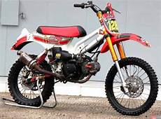 Modifikasi Motor Bebek Honda by Gambar 7 Modifikasi Motor Trail Cross Grasstrack Terbaru