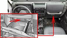 Fuse Box Diagram Gt Jeep Wrangler Tj 1997 2006