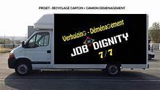 Camion Pour Déménagement Projet Recyclage Service D 201 M 201 Nagement Dignity
