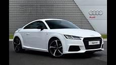 Audi Tt Tfsi S Line Black Edition White 2017