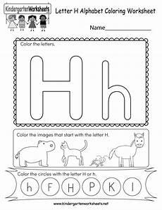worksheets letter h kindergarten letter h coloring worksheet free kindergarten english