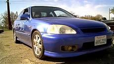 Honda Civic 2000 - 2000 honda civic si electron blue pearl