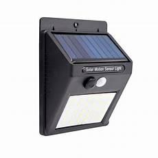 2pcs solar powered 30 led pir motion sensor waterproof wall light for outdoor garden yard 3