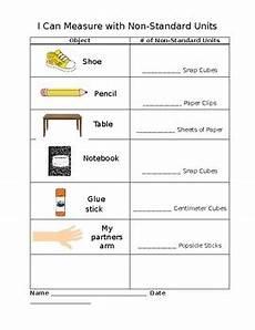 measurement worksheets grade 1 non standard 1453 non standard measurement worksheet by boren2teach tpt