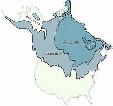extent of the laurentide ice sheet from the glacial maximum to download scientific diagram